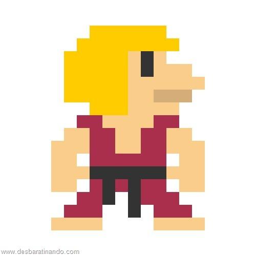 super herois e viloes em 8 bits street fighter (3)