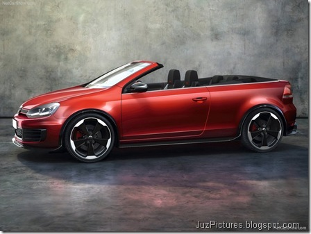 VW Golf GTI Cabriolet Concept2