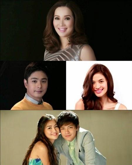 Kris Aquino, Coco Martin, Anne Curtis, Kathryn Bernardo and Daniel Padilla