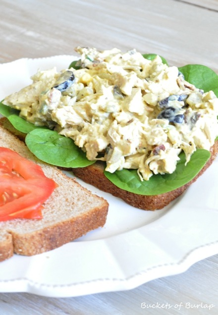 rustic chicken salad