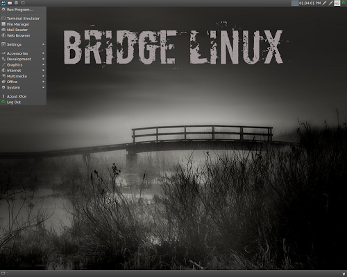 Bridge Linux 2012.8 Xfce