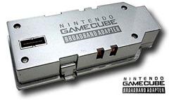 O Broadband Adapter veio suprir a demanda de jogos online para o GameCube, porém pouquíssimos jogos deram atenção a esse campo no GameCube. Destaque para Phantasy Star Online