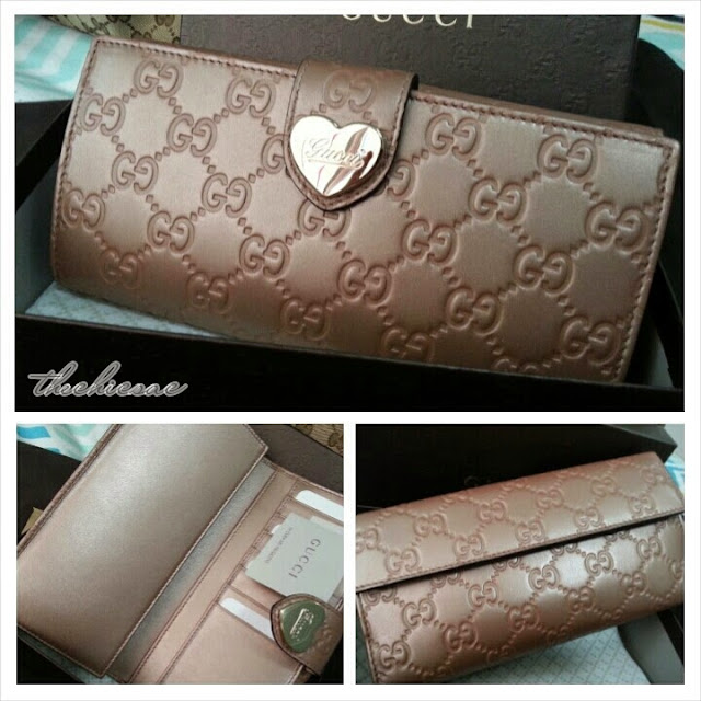 Gucci Guccissima Leather Ladies Wallets