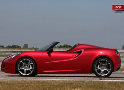 Alfa Romeo 4c Spyder - Anton carscoop