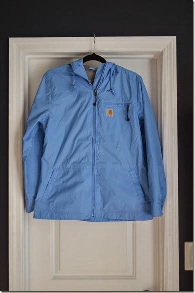 the jolly james  monogrammed rain jacket
