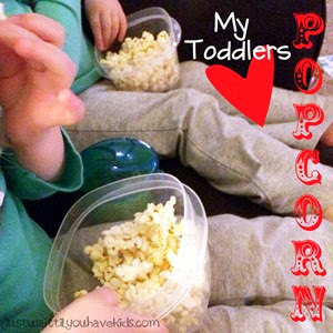Toddler Snack-Popcorn