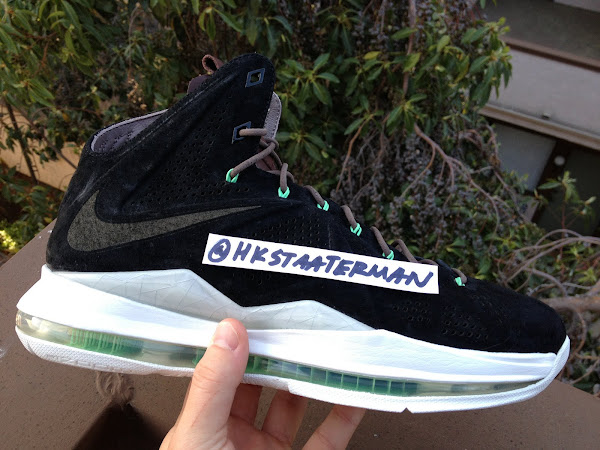 First Look at LEBRON X EXT Black Nubuck That MIGHT Drop Soon