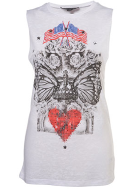 Tall-White-Print-Burnout-Tank-Top-Flag-Topshop