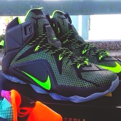 nike lebron 12 xx dunkman 1 01 Leaked: Nike LeBron XII (12) in Black and Volt That Could Be A Dunkman