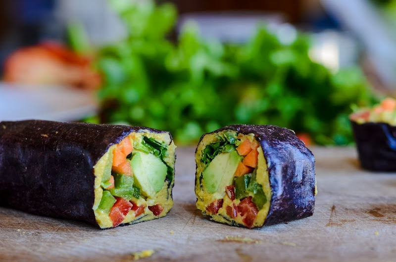 Raw veg nori seaweed wraps -6148