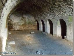 Bodega del castillo de Tiebas