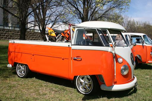 Modernised VW Kombi ute,