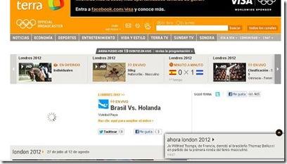 Juegos olimpicos london londres 2012 ver online por internet gratis en hd en tiempo real competencias