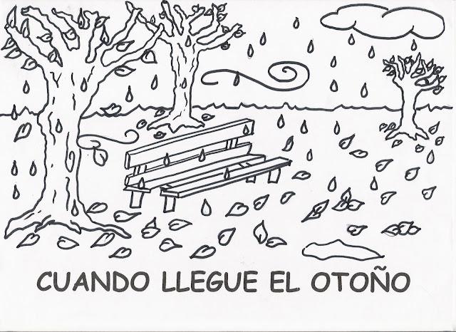 Dibujos del otoño