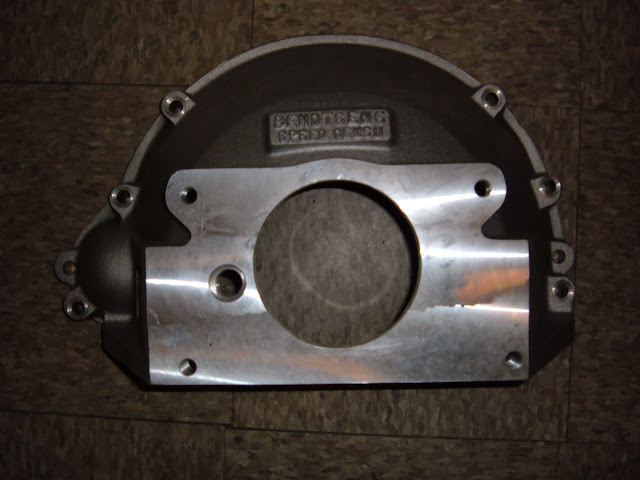 New bellhousing 57-66 364-401-425 cast aluminum,  for 3-4-5 Speed GM trans. 325.00