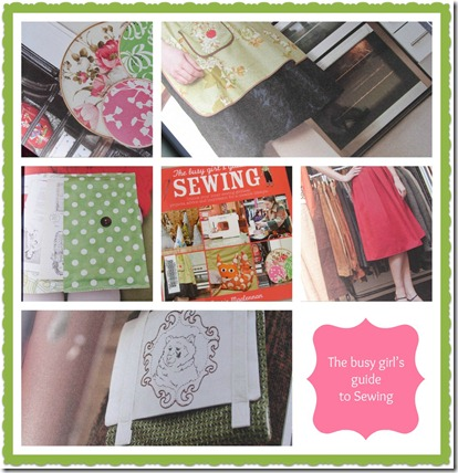 girls sewing guide Collage