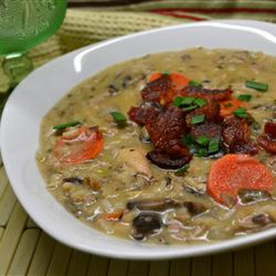 Turkey Wild Rice Soup II