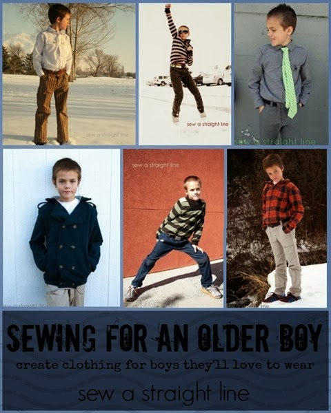 sewing for tween boy