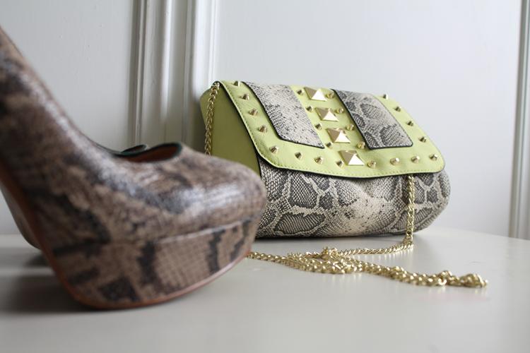 decoltè Zara e minibag H&M