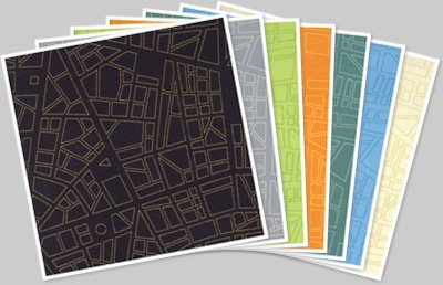 Barcelona fabrics city map anzeigen