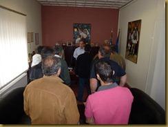 2012 - Ορκωμοσία Υδρονομικών Οργάνων του ΤΟΕΒ Αγροκτήματος Ναούσης