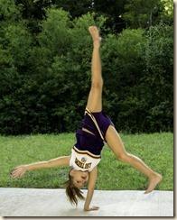 Wesleigh Cheerleader