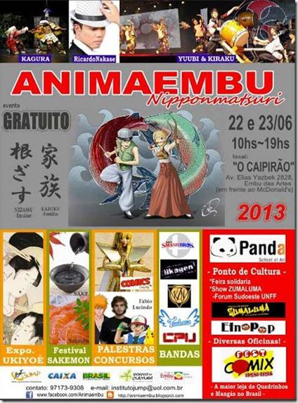 6º Animaembu Nippon Matsuri