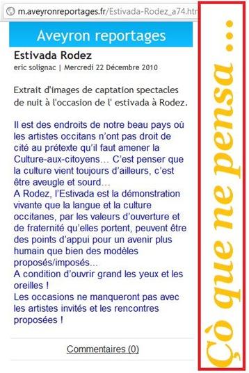 Éric Solignac L'Estivada