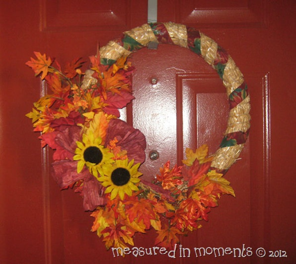 My Autumn wreath