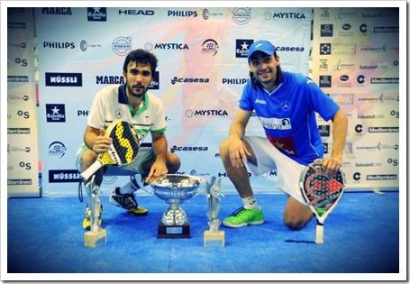 Lima-Mieres Campeones en el WPT Estrella Damm Castellón Open 2014.