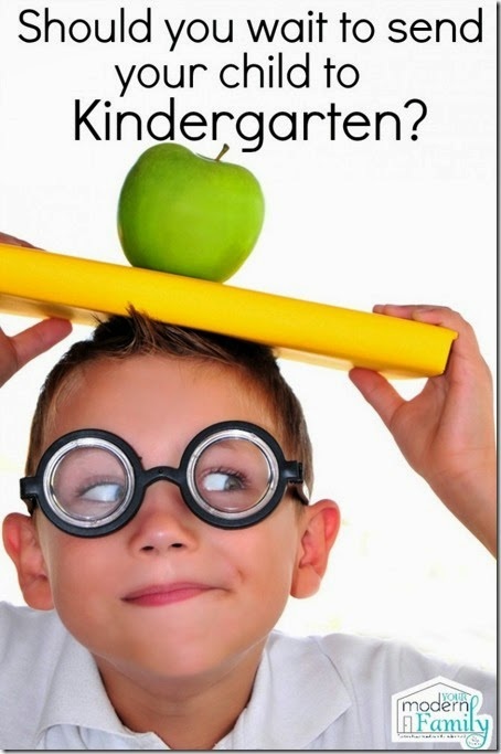 Should i wait to send my child to kindergarten - great tips and things to think about for parents