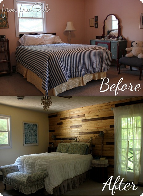 Master Bedroom Makeover Before and After
