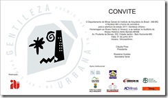 Convite Gentileza Urbana