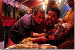 Fighting with Kurush & Rhea, 2 of my people, for cake.  Photo: Jyotika