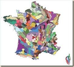 309 régions forestières nationale
