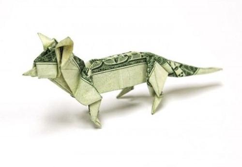 Origami de dinheiro 03