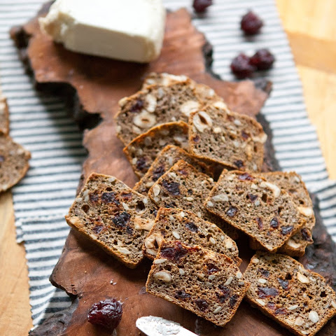 Hazelnut & Cherry Whole-Grain Crackers