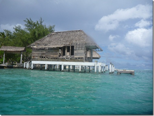 The now defunct Hotel Bora Bora