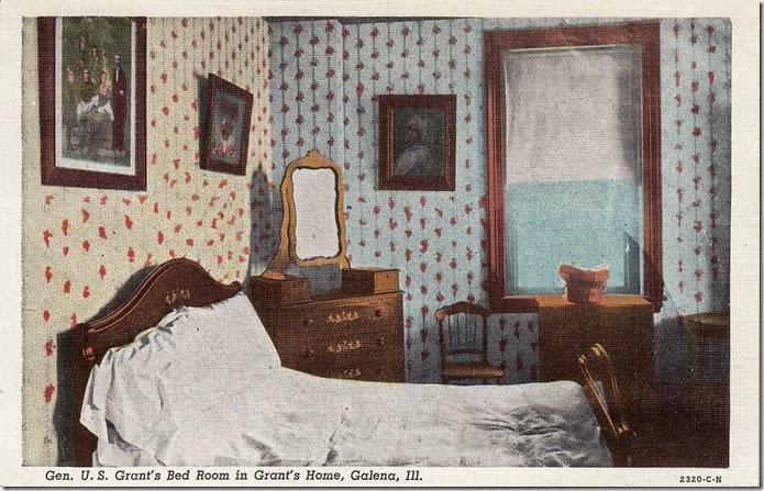 General U.S. Grant's Bedroom in Grant's Home - Galena, Illinois pg. 1