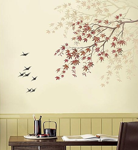 Tree-Stencil-Maple