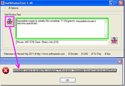 GetWindows Text