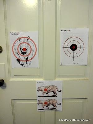 Rainy Day Fun: Target Practice