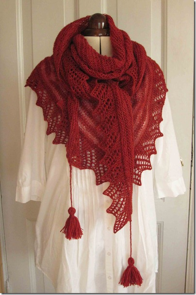 Camomille-som-tørklæde