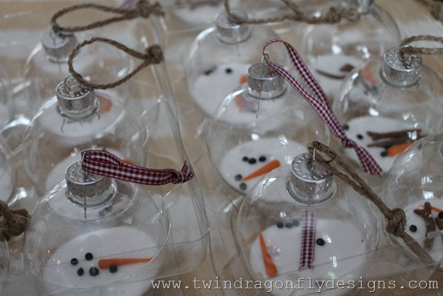 Melting Snowman Ornament (8)