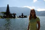 Temple sur l'eau à Bedugul
