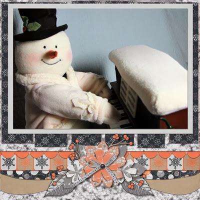 MMTS & TSK - Frosty - Piano Snowman