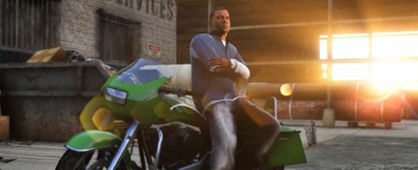 Conheça o personagem Franklin em GTA V é o personagem mais jovem entre os três, tem 20 anos ou mais, tem dupla função entregador de recados e traficante, ele mora em Vespucci Beach, trabalha um armênio que é traficantes de carros, ainda sobra um tempo para ser o capataz da área