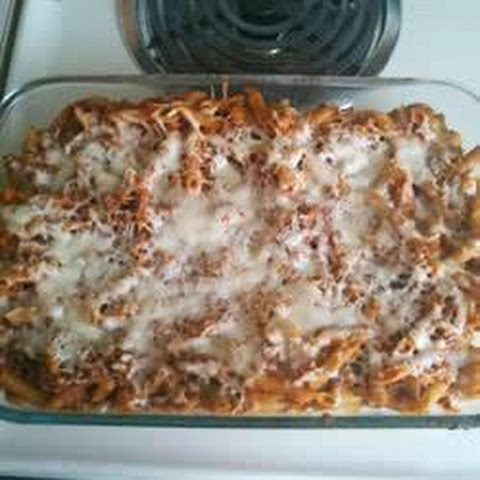 Baked Mostaccioli With Ground Beef Recipes | Yummly
