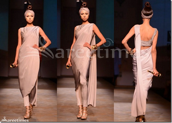 Shantanu_and_Nikhil_Grey_Saree