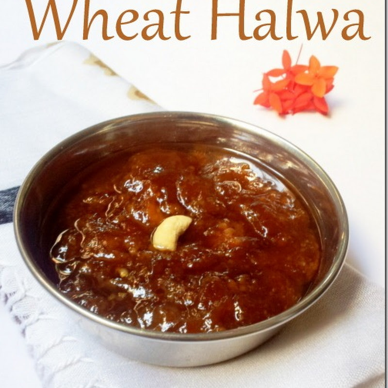 Wheat Halwa | Tirunelveli Halwa Recipe | Diwali Recipe